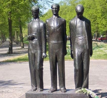De 4 mei herdenking 2018 in Amsterdam Zuid West