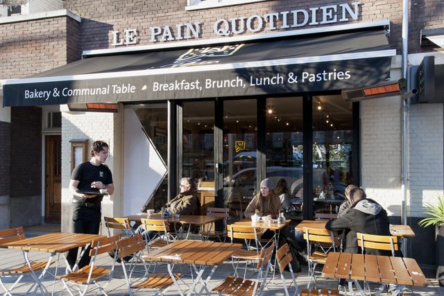 Beethovenstraat 56-huis Uitbouw Le Pain Quotidien