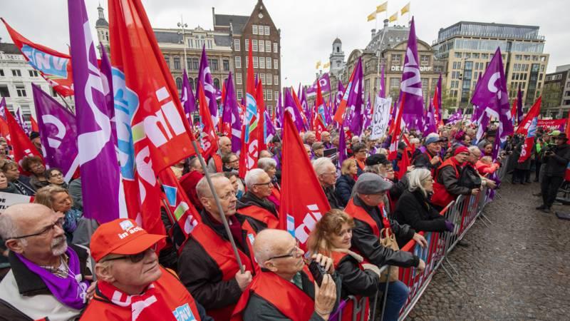 Wijkraad bij Pensioenacties vakbonden