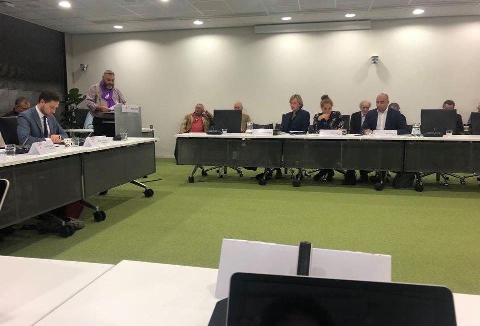 Wijkraad spreekt in bij Stadsdeelcommissie Zuid over redding Huis van de Wijk Olympus
