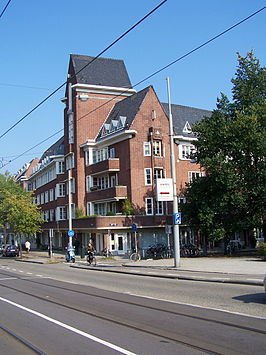 Puinhoop Beethovenstraat