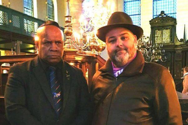 Kristallnacht-herdenking in Portugees-Israëlitische Synagoge